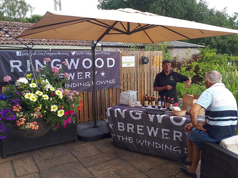 Ringwood Brewery tasting