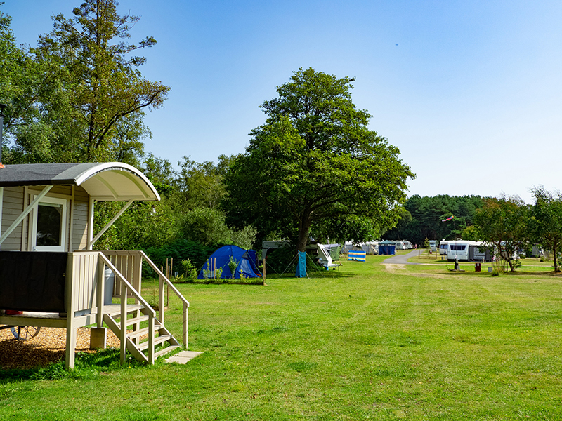 Touring, camping and glamping