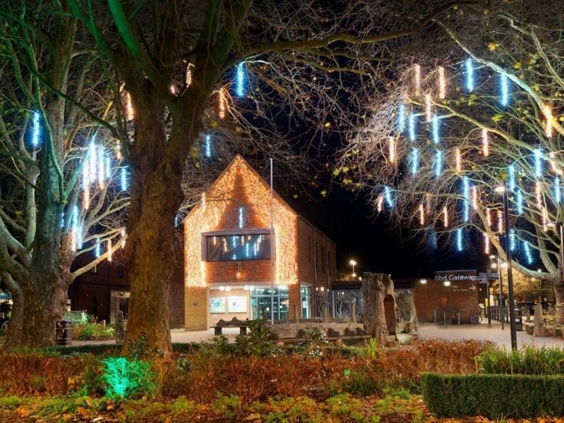 Christmas lights in Ringwood