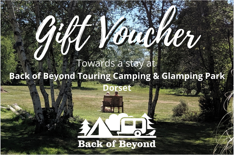 Back of Beyond Touring Camping & Glamping Park Gift Vouchers