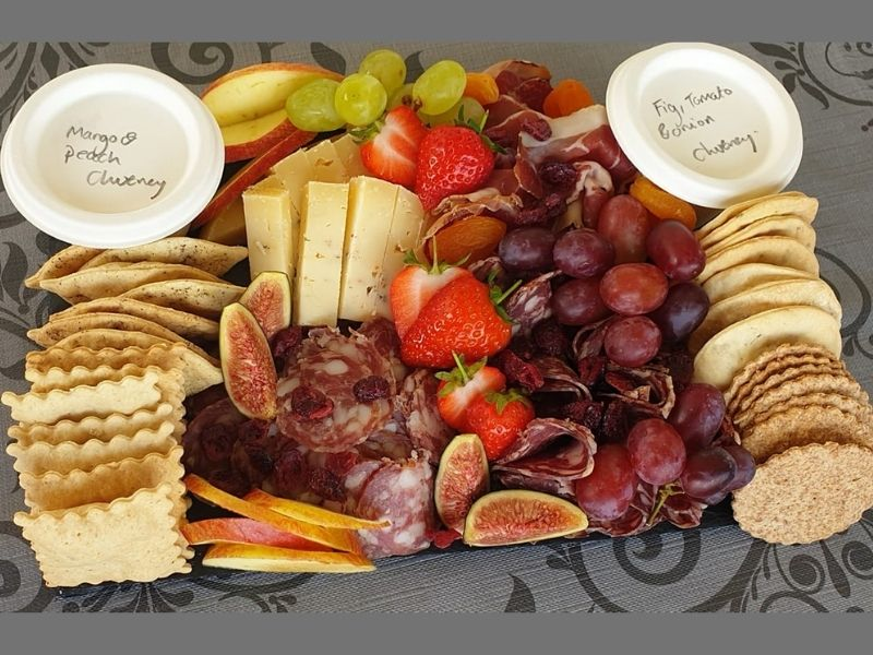 Charcuterie platter at Back of Beyond