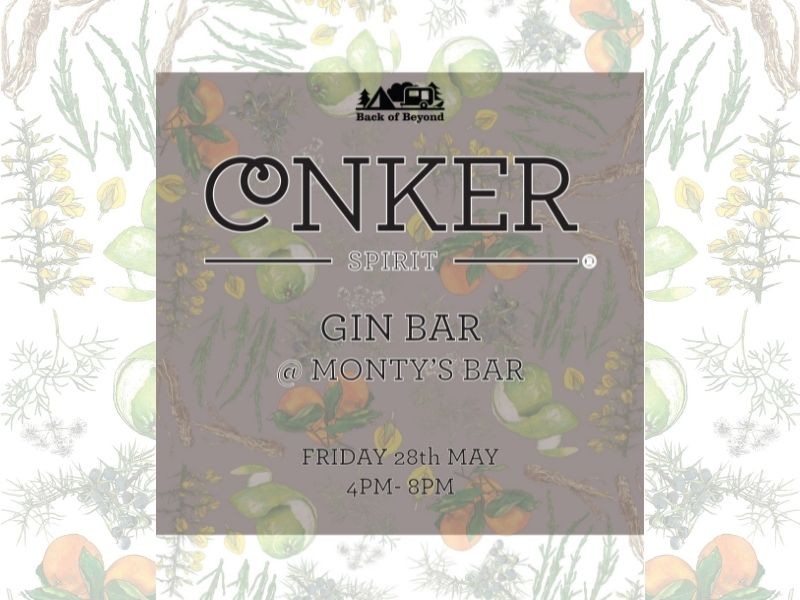 Conker Gin at Back of Beyond 28 May 2021